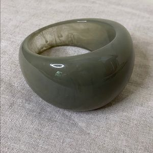 Chico's Stunning Gray Ombré Tapered Cuff